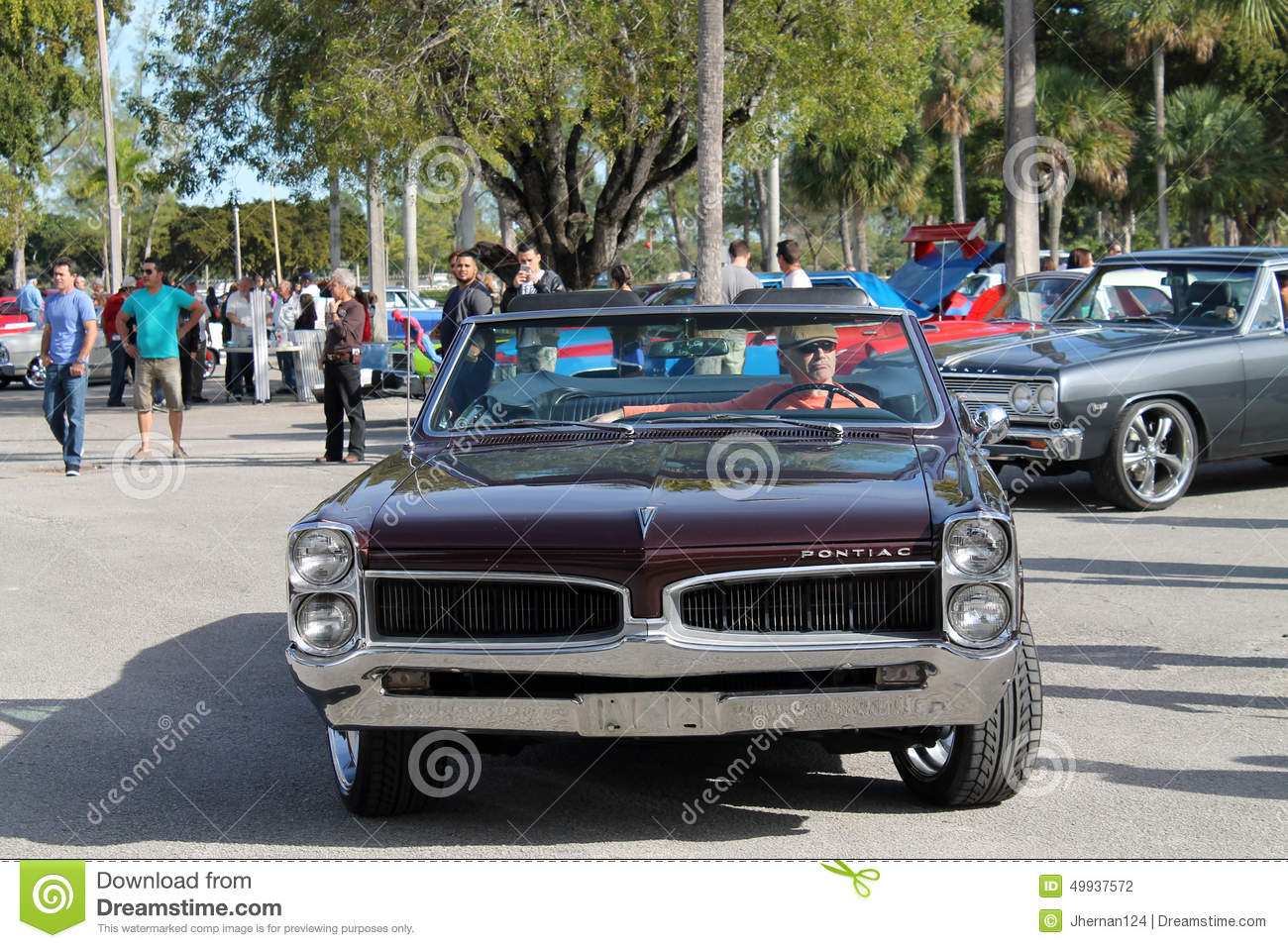 Old Classic American Muscle Car Editorial Photography - Image of ...