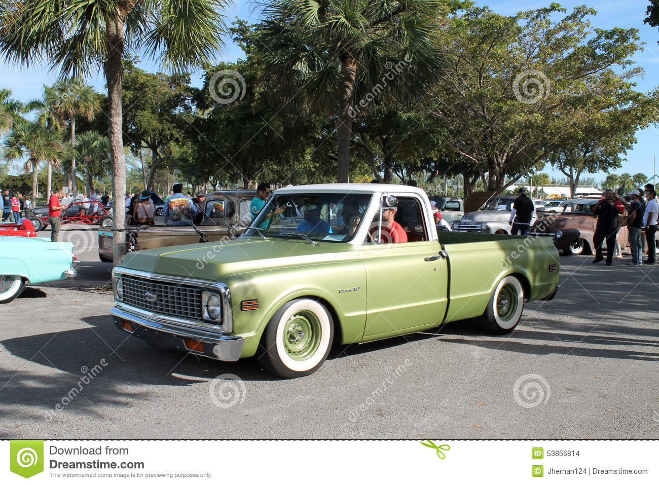 Old classic american truck editorial stock image. Image of forties ...