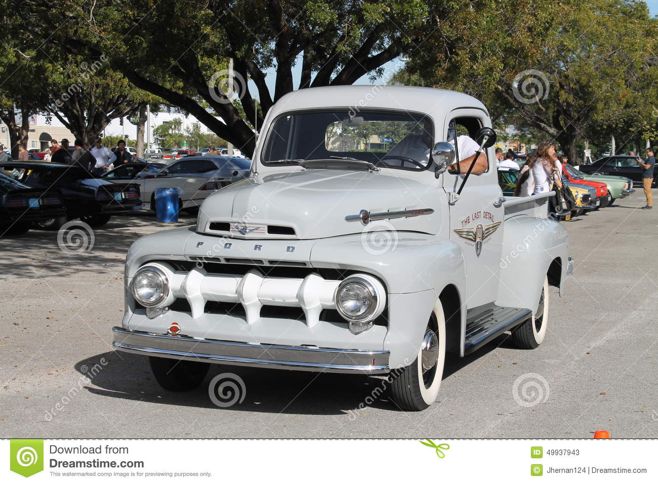 Old classic american truck editorial stock photo. Image of auto ...