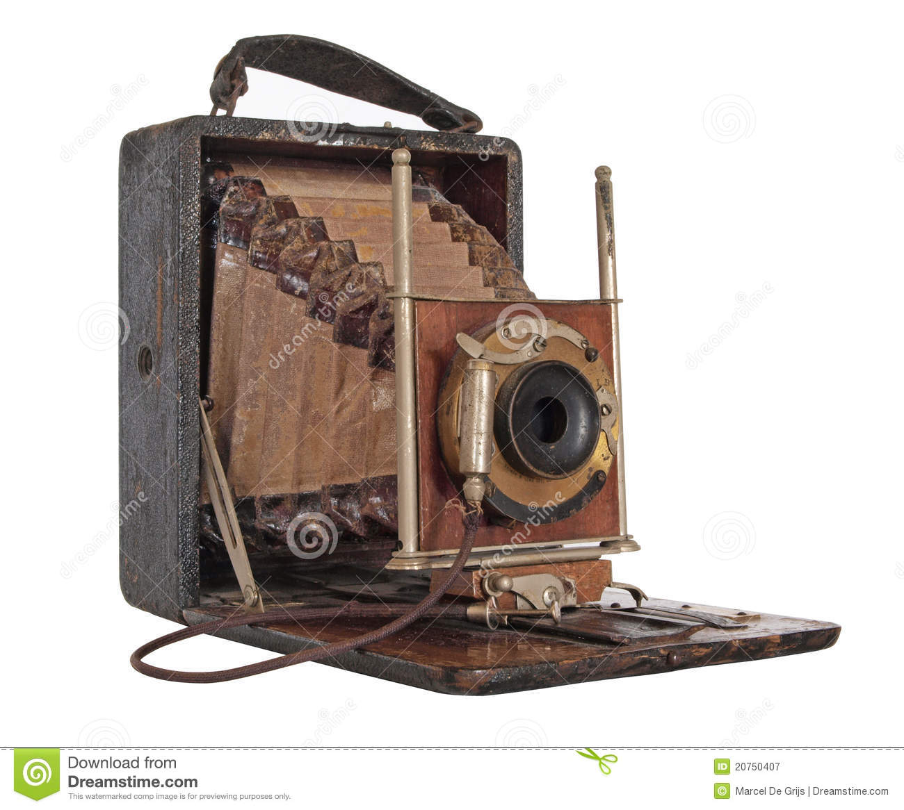 Old classic camera stock image. Image of collectible ...