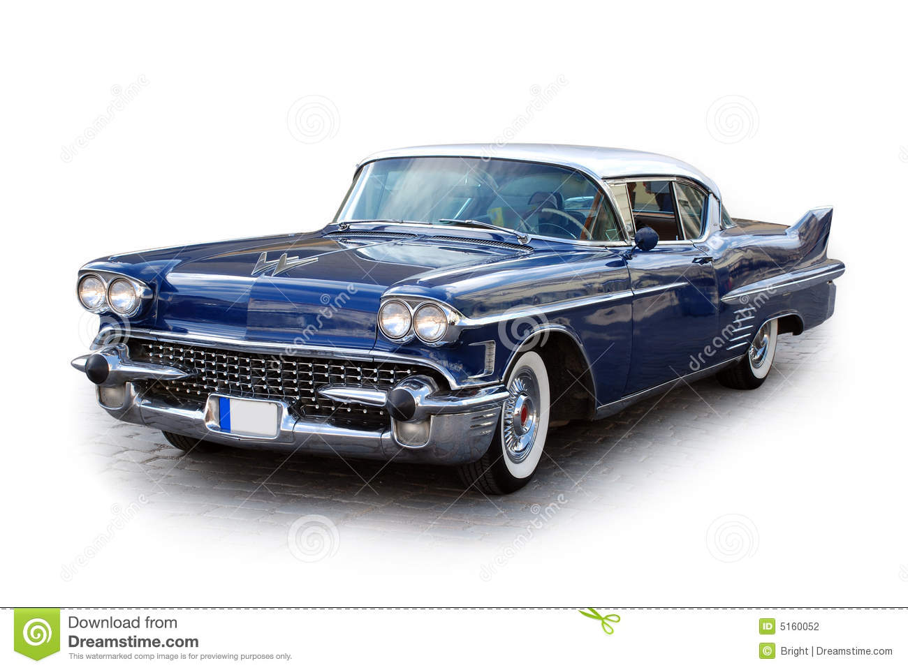 Old Classic Car Stock Photography