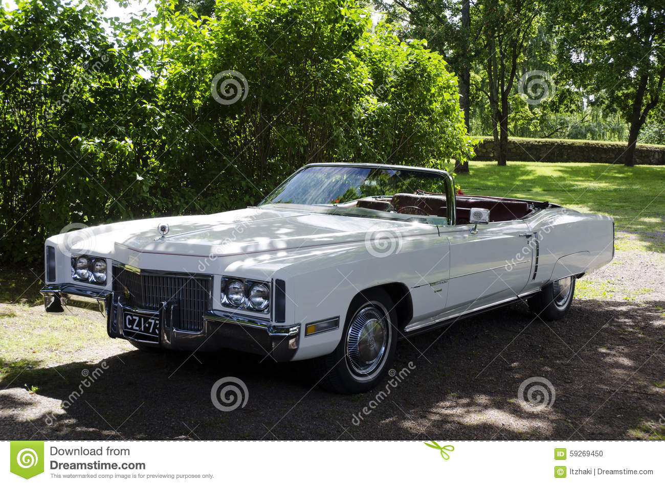 Old Classic Car editorial image. Image of cadillac, retro - 59269450