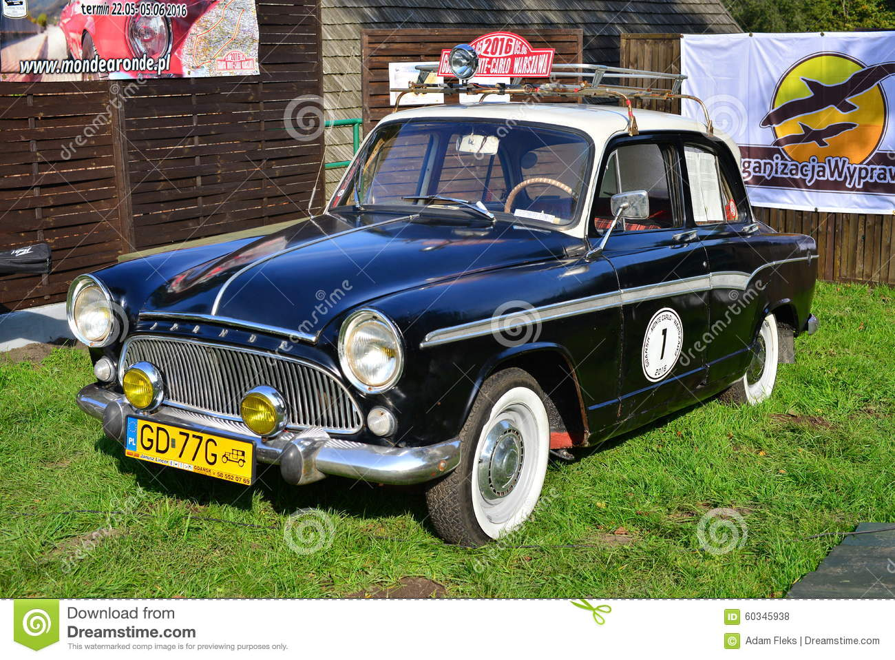 Old classic French car editorial stock photo. Image of beutifully ...
