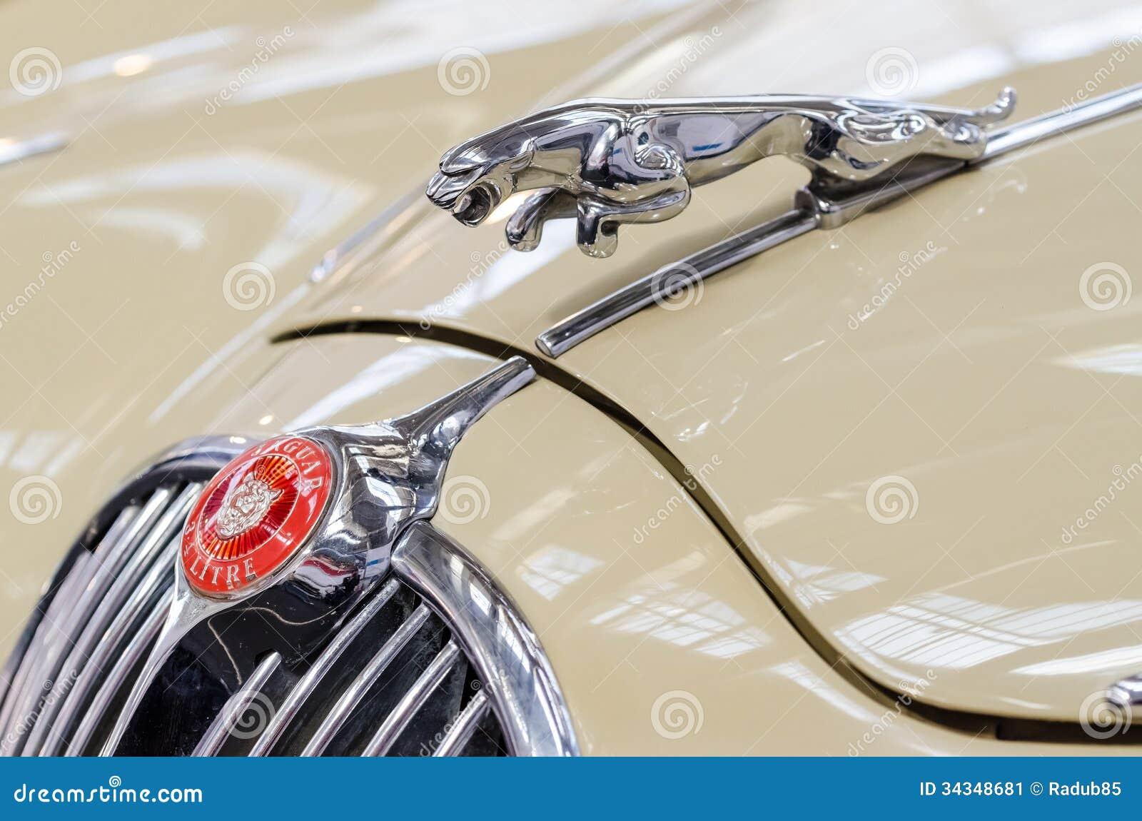 Old Classic Jaguar Sign