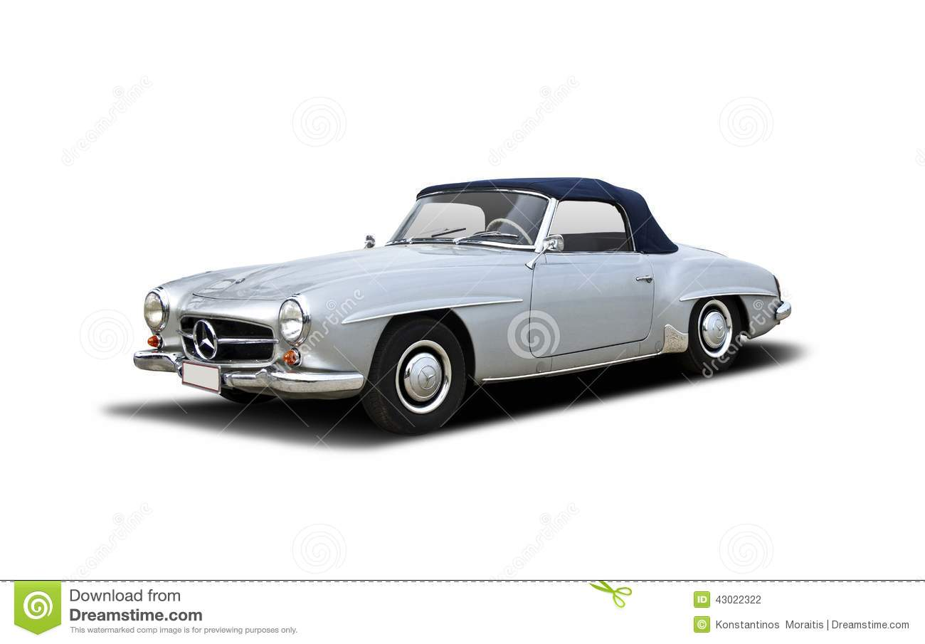 old classic mercedes 190 sl cabrio editorial photography image 43022322. Black Bedroom Furniture Sets. Home Design Ideas