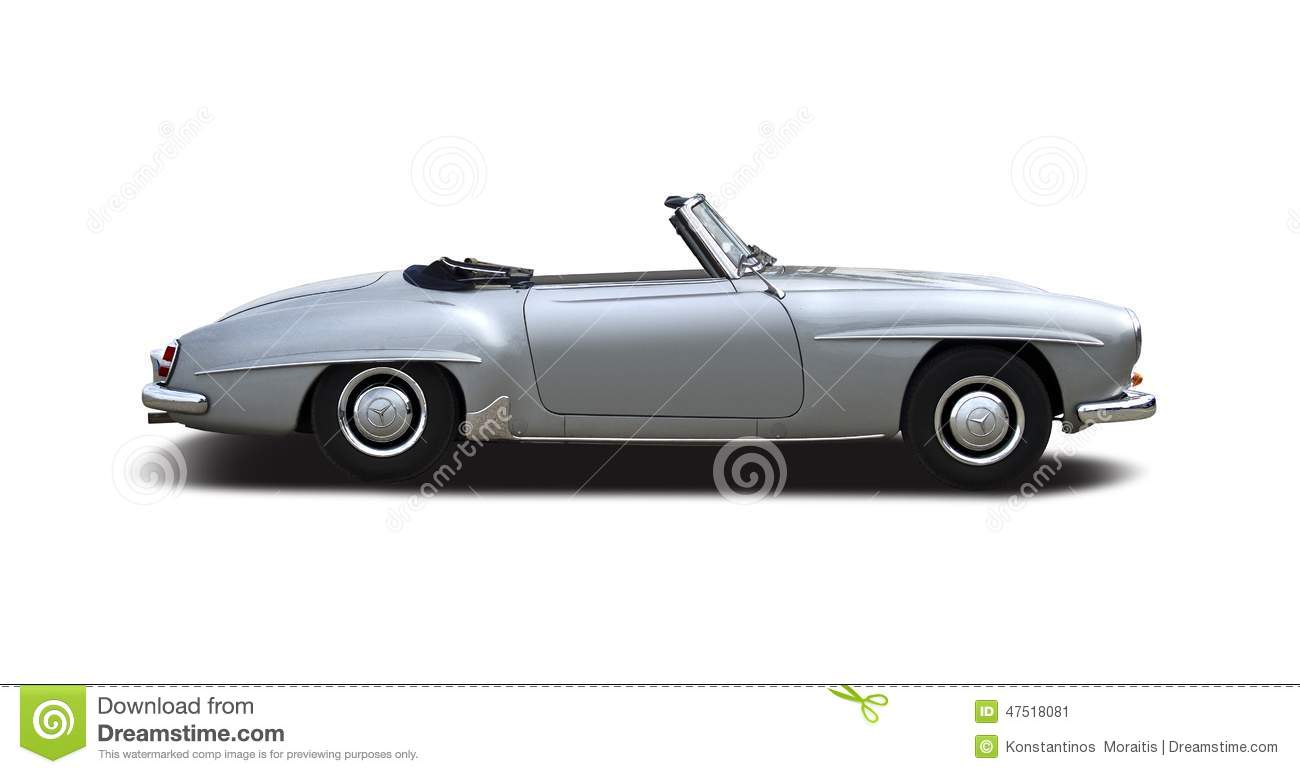 old classic mercedes 190 sl cabrio editorial photo image 47518081. Black Bedroom Furniture Sets. Home Design Ideas