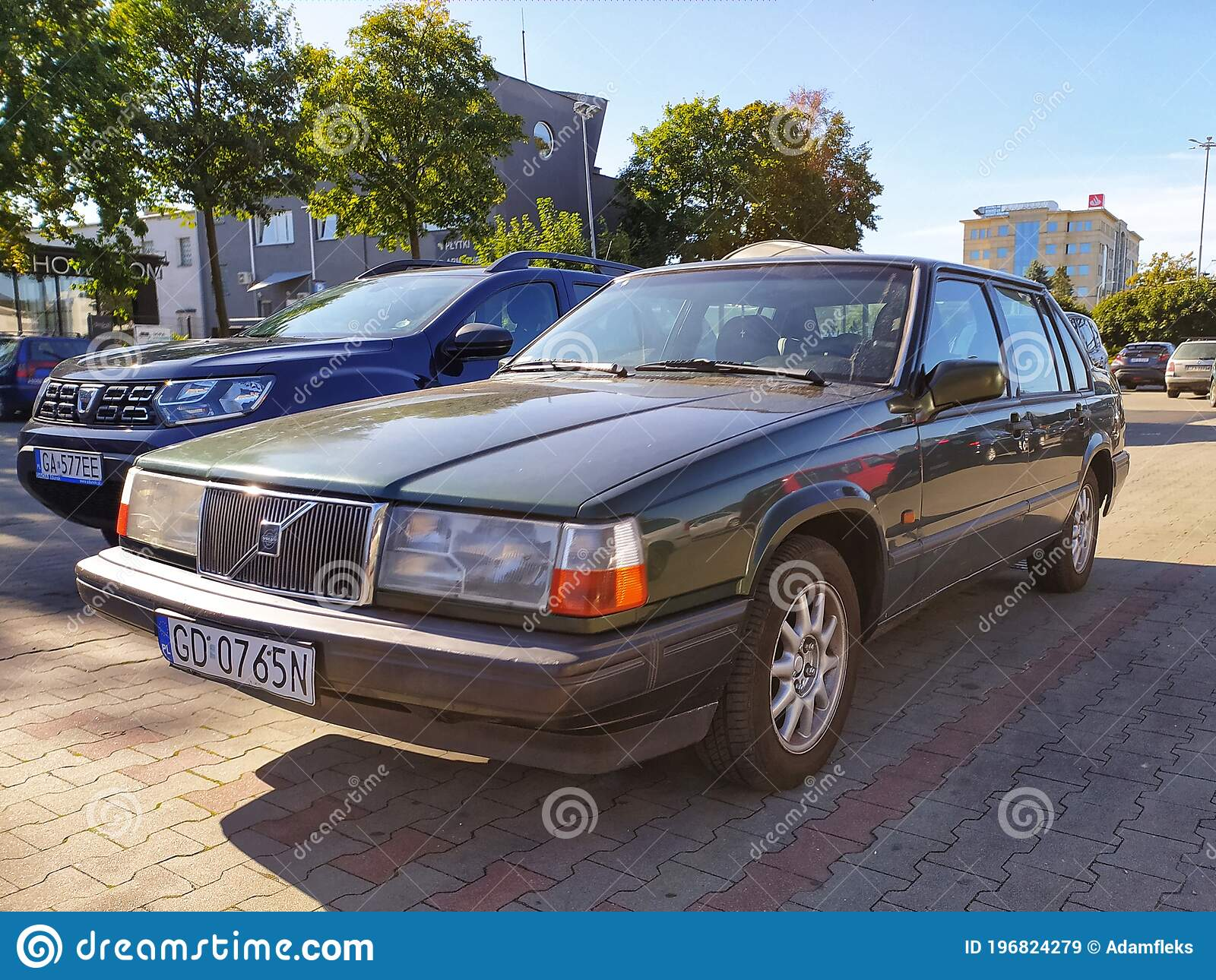 Old Classic Volvo 940 Polar Sedan Car Parked Editorial Stock Image Image Of Design Doors 196824279