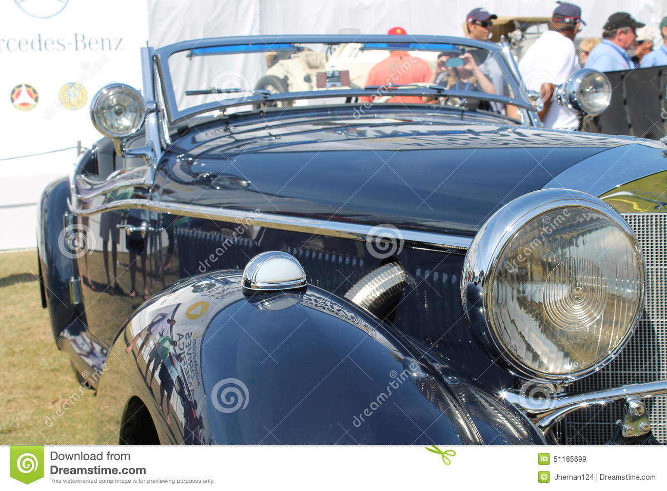 Old Classy German Sports Car Editorial Stock Image - Image of ...