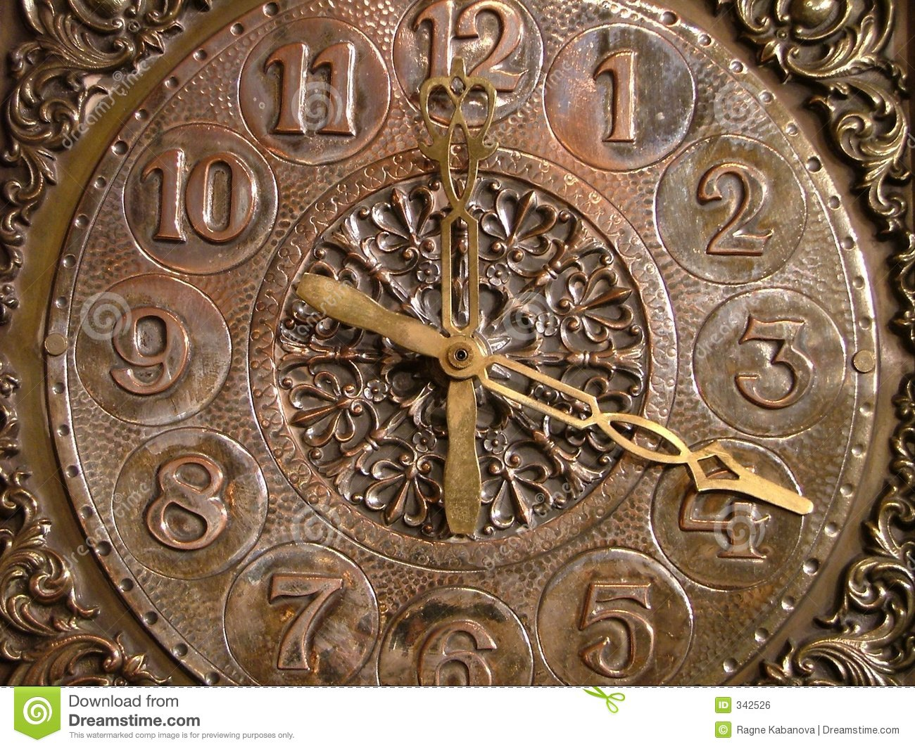 Old Clock Royalty Free Stock Image Image 342526