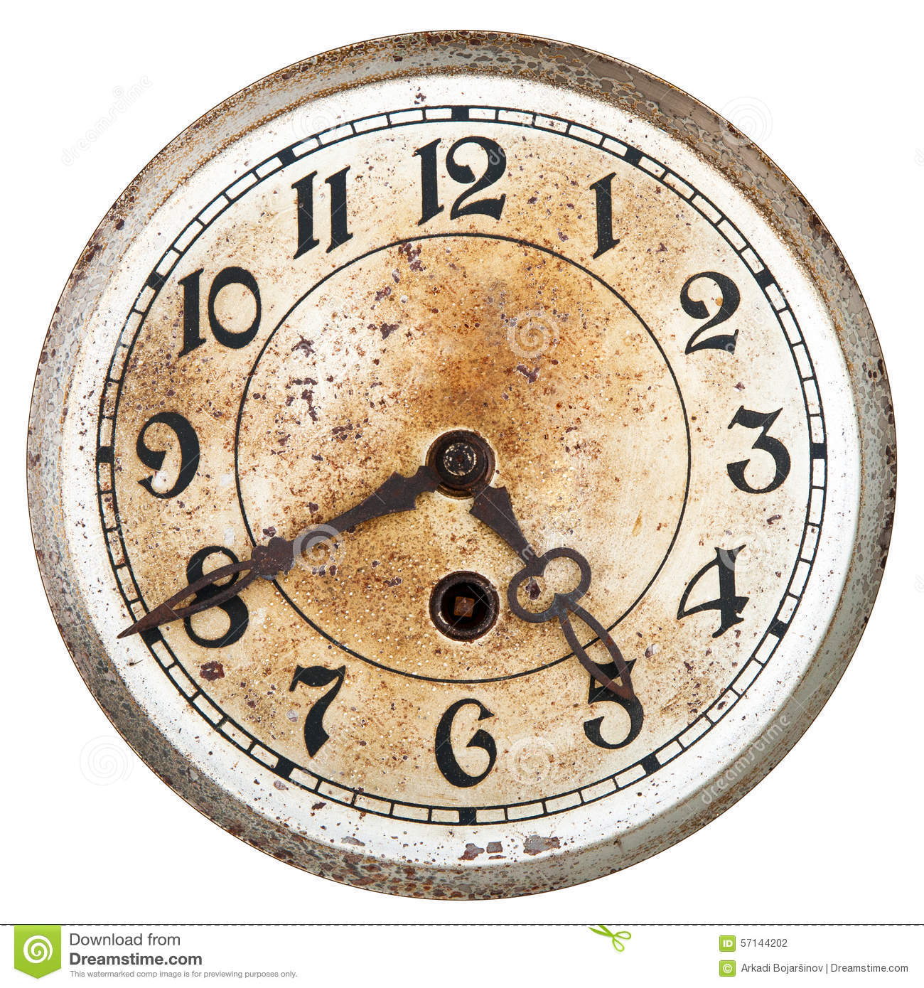 Paintings On Clock Faces