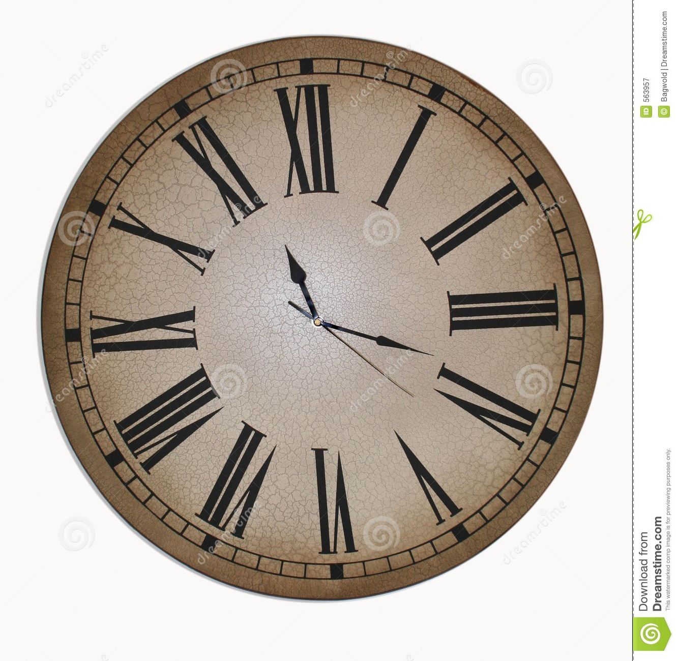 Old Clock Face Royalty Free Stock Photography Image 563957