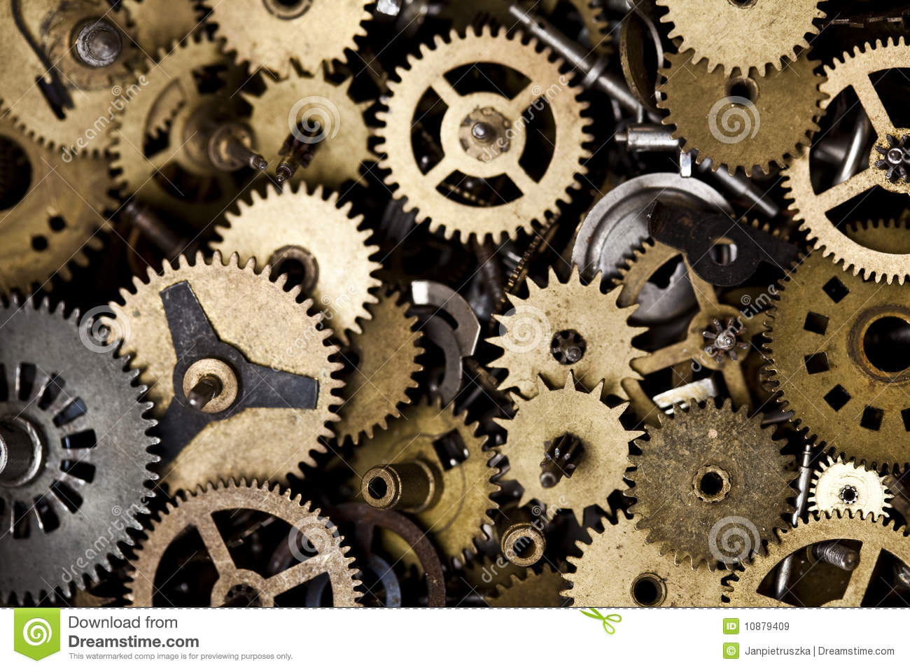 Old Clock Machine Royalty Free Stock Images Image 10879409