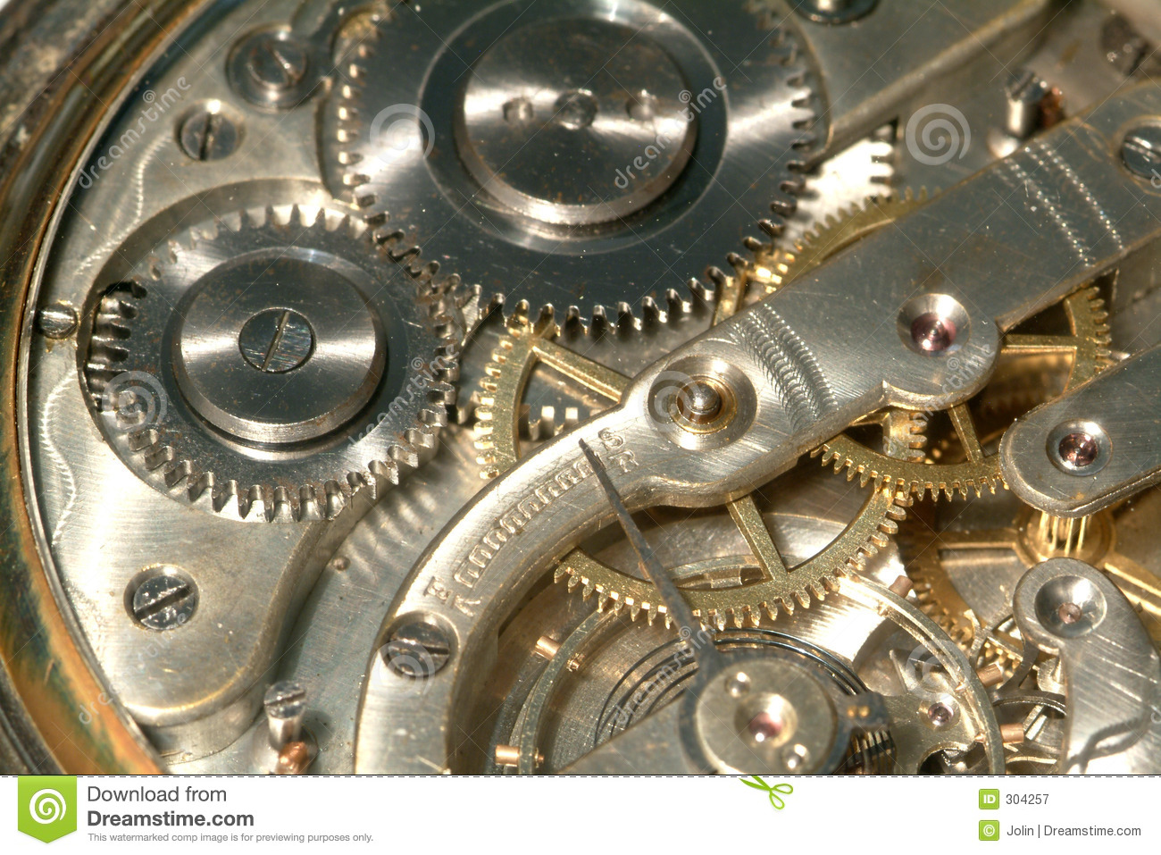 Old Clock Machine Royalty Free Stock Photography - Image ...