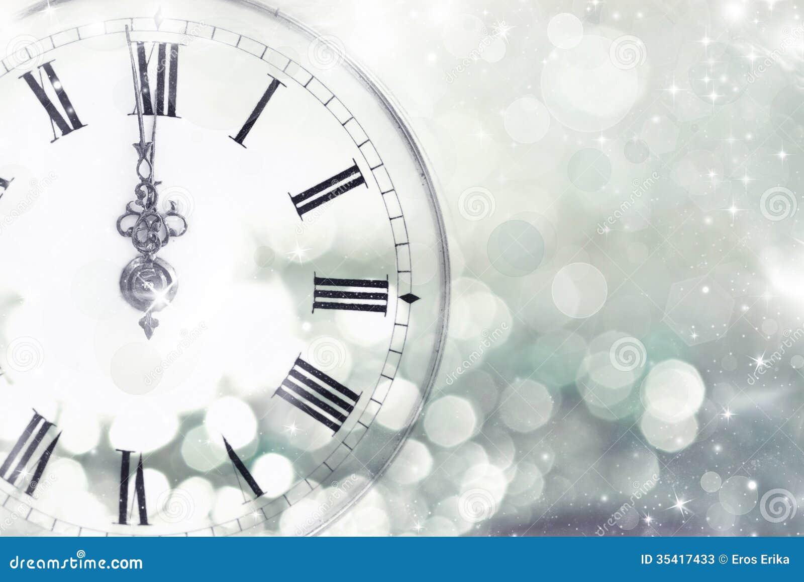 New Years Eve Countdown Clock