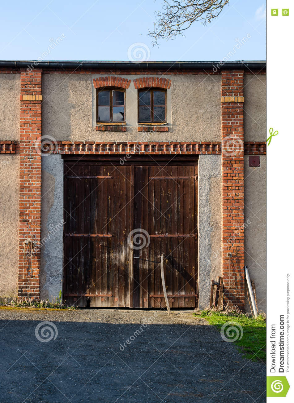 Red Farm Gates Royalty Free Stock Image Cartoondealer