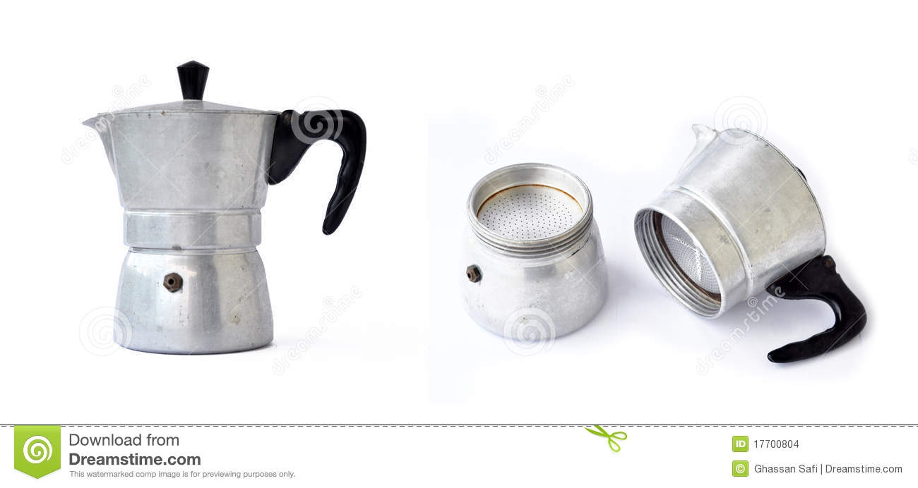 Old Coffee Maker Stock Images - Image: 17700804