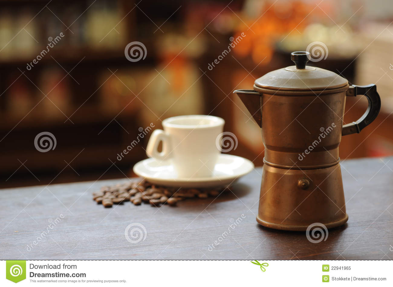 Old Time Coffee Maker : Old Coffee Maker Royalty Free Stock Photo - Image: 22941965