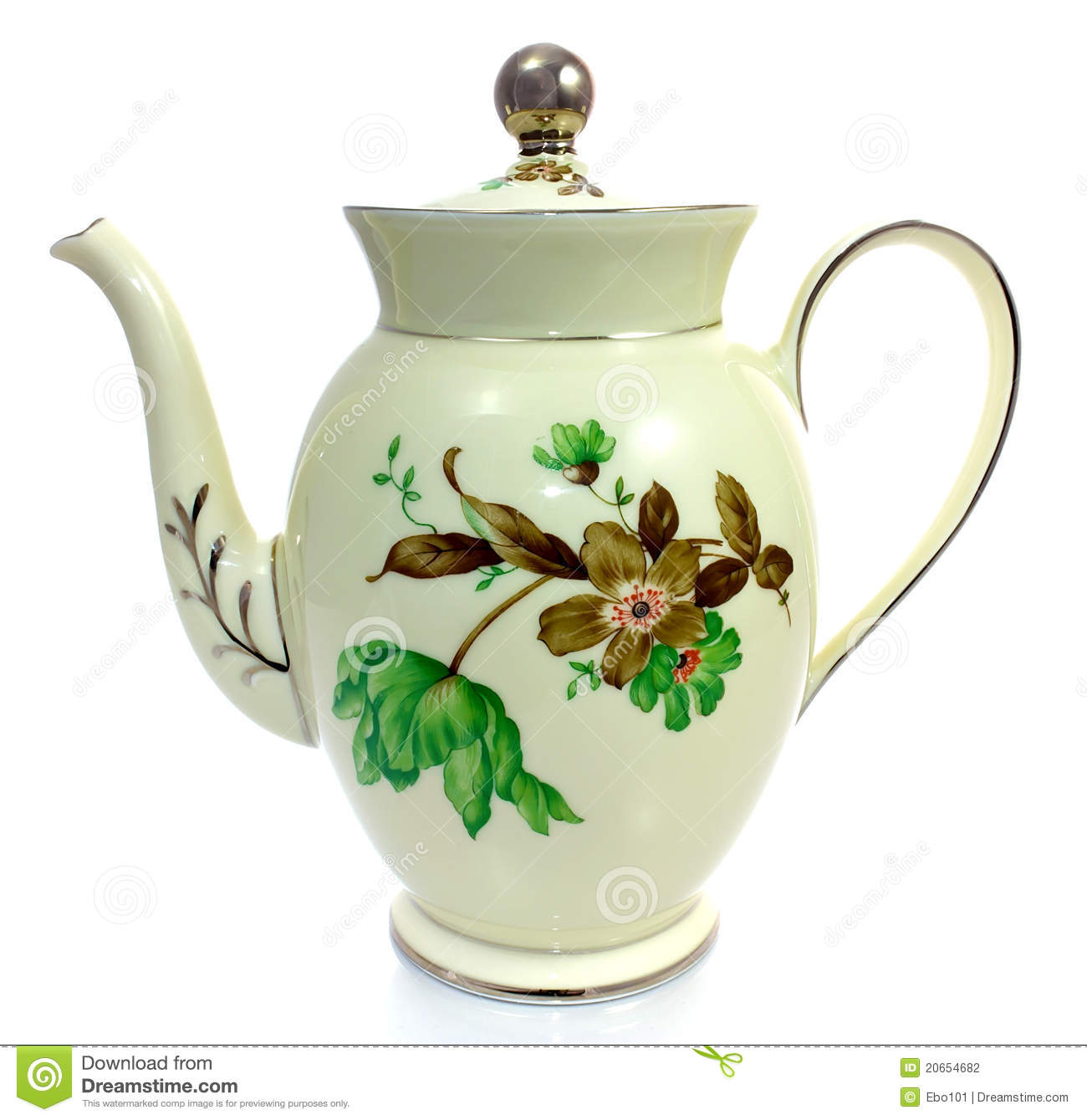 Old Coffee Pot Stock Photography Image 20654682