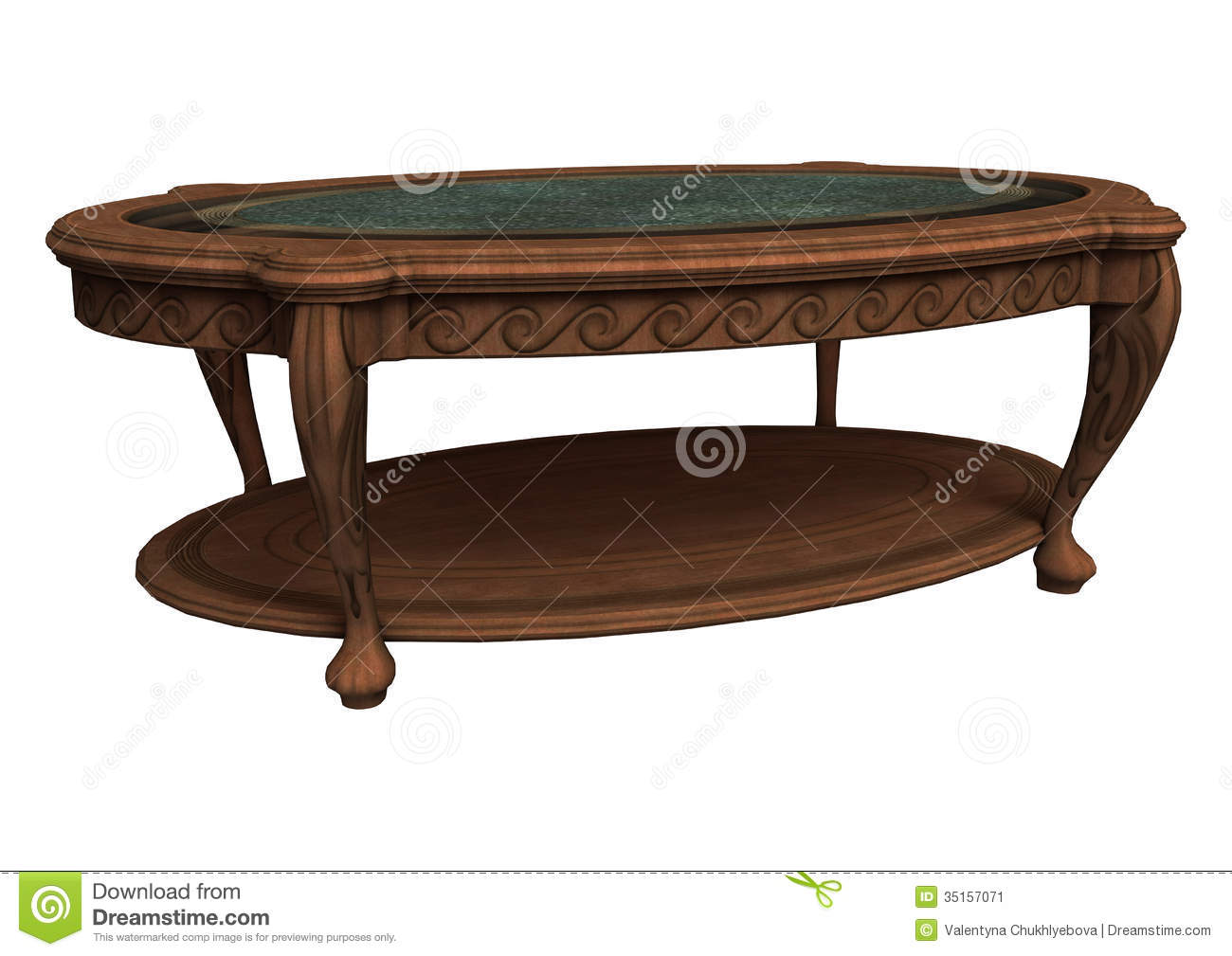 Old coffee table stock illustration image of vintage 35157071 old coffee table geotapseo Choice Image