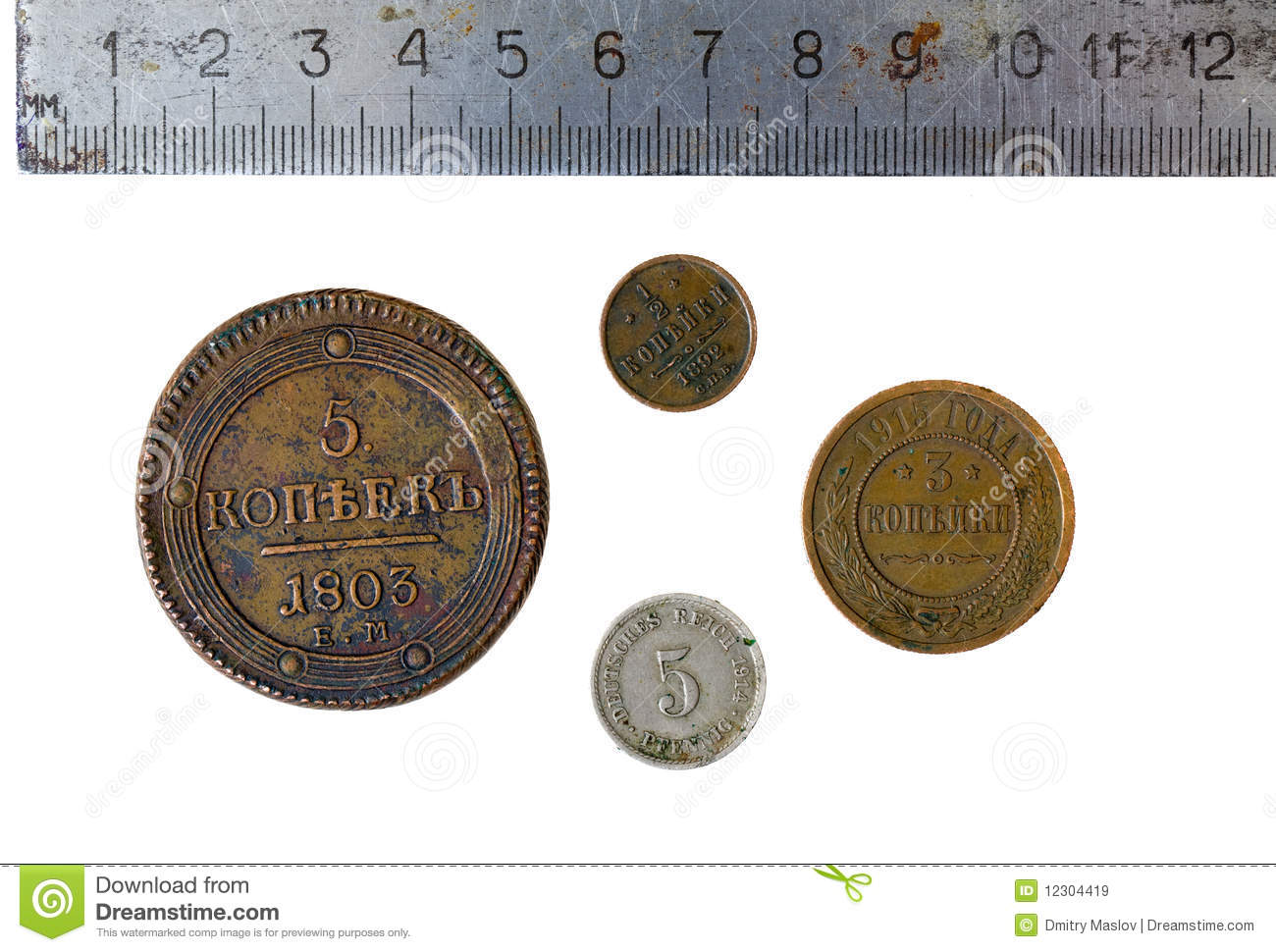 Old coins royalty free stock images image 12304419