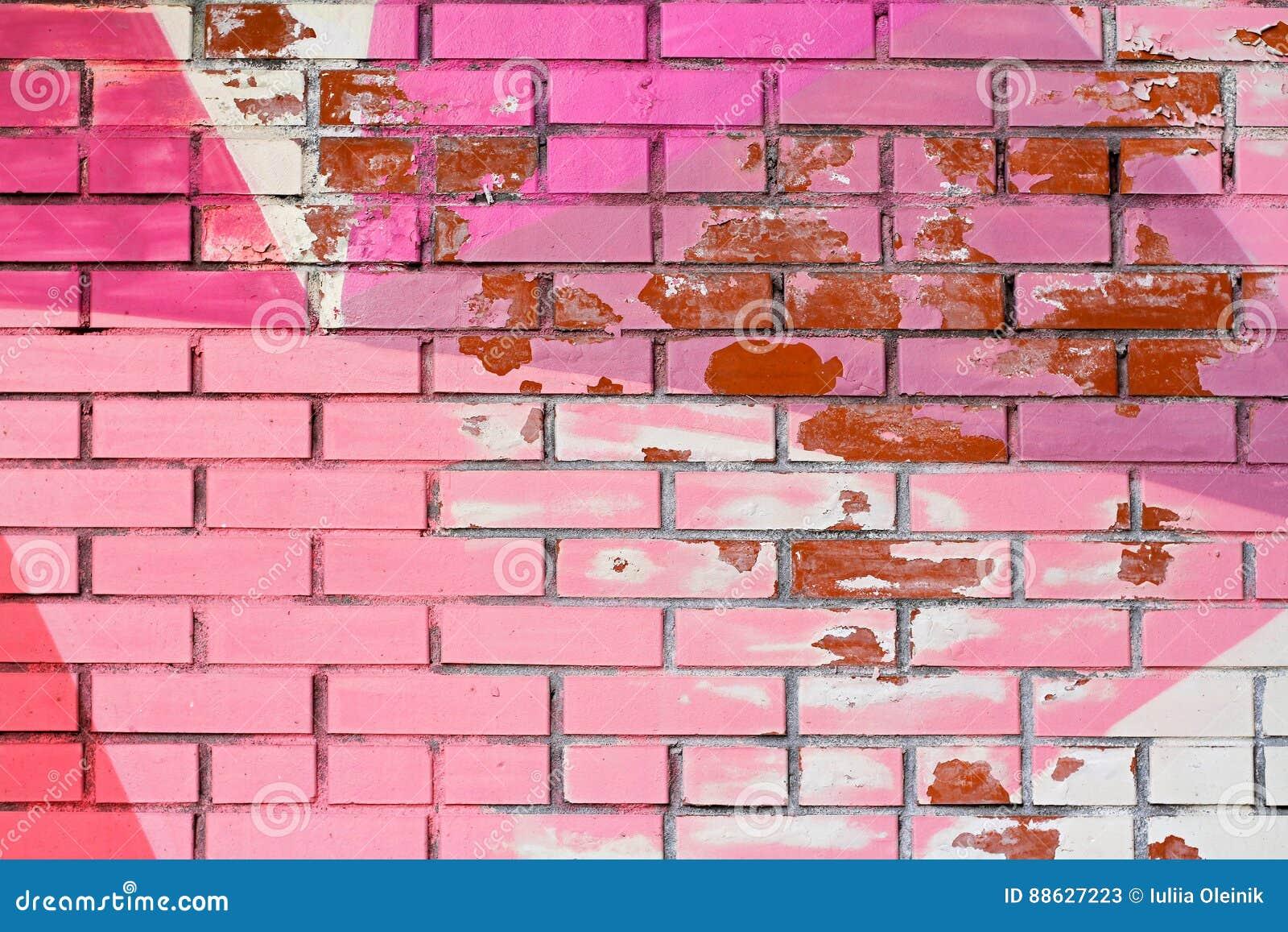 peeling plaster effect wallpaper