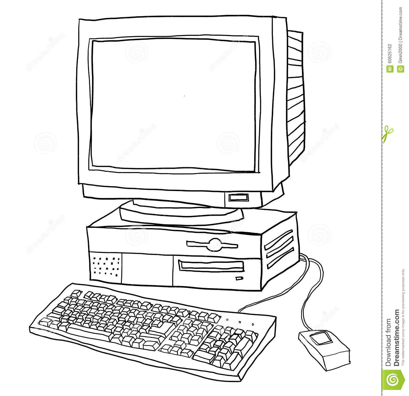Line Art Laptop : Capslock cartoons illustrations vector stock images