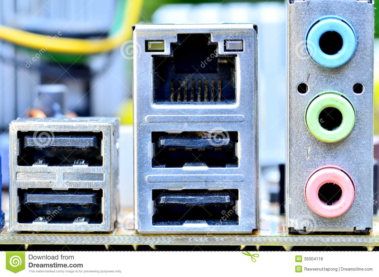 old computer interface stock photo image of hardware 35004116