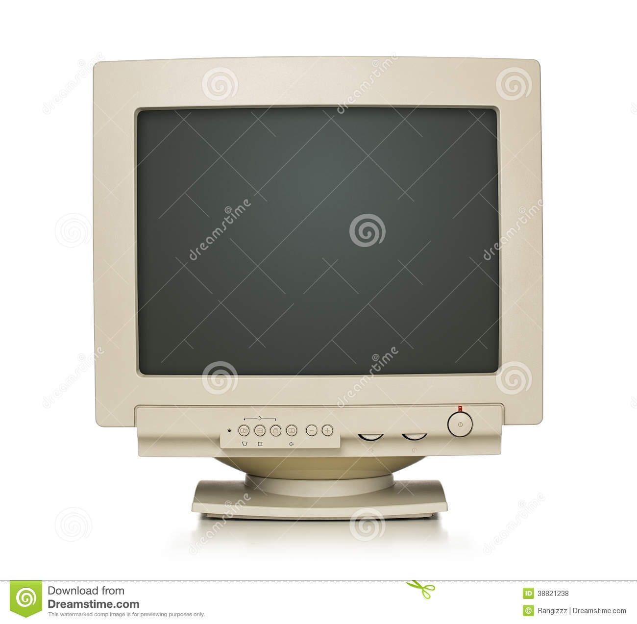 Old Computer Monitor Stock Images - Download 3,824 Royalty