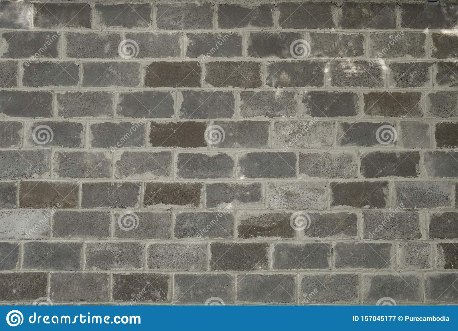 Old Concrete Block Wall Background Texture Stock Image Image Of Texture Commercial 157045177