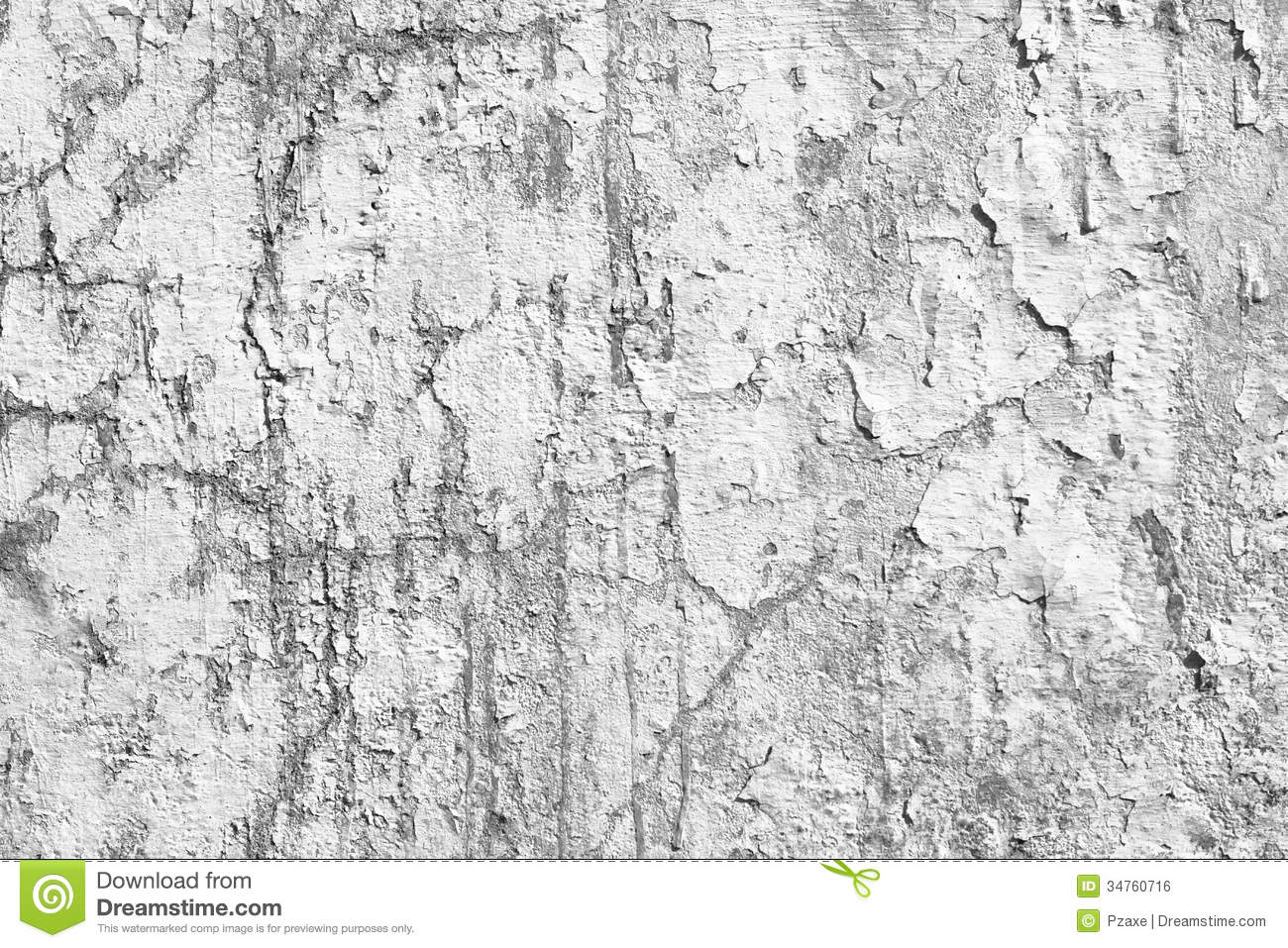 old concrete wall with peeling paint background royalty free stock image image 34760716. Black Bedroom Furniture Sets. Home Design Ideas
