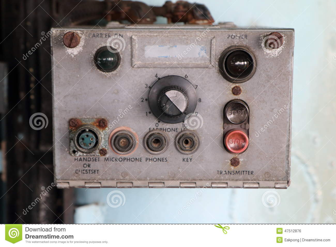 Old Control Panel Levers : Old control panel stock photos royalty free images