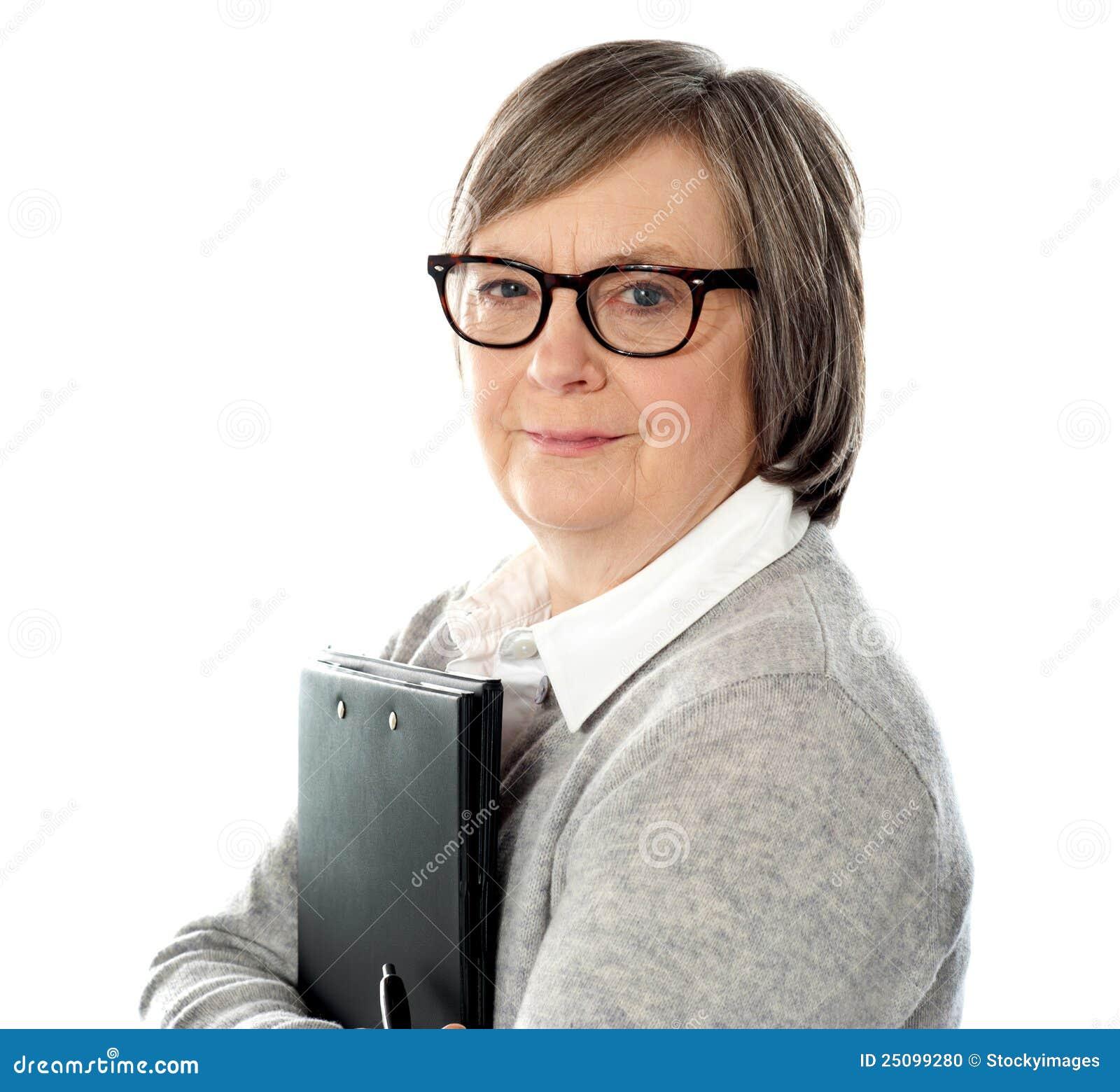 старая бизнес леди фото