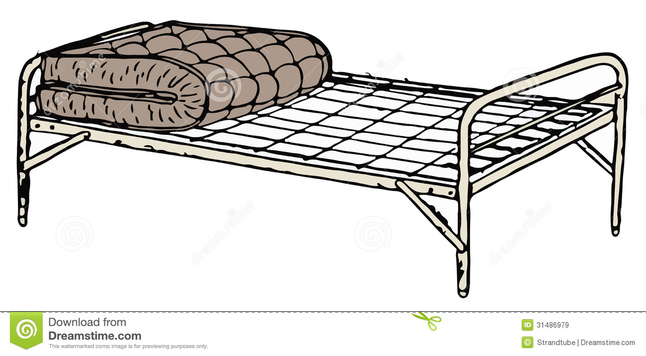 Royalty Free Stock Images: Old Cot Bed. Image: 31486979