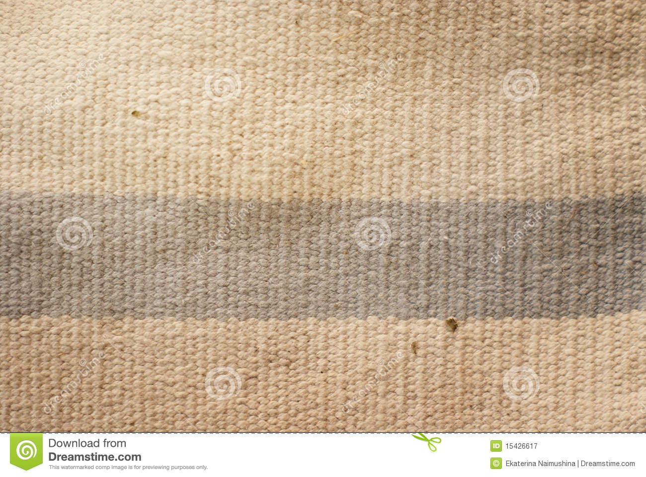 Old cotton rug
