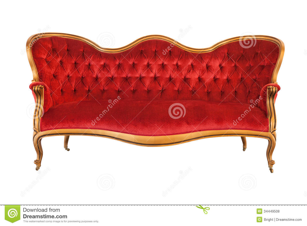 Old Couch Stock Photo Image Of Classic Couch Furniture