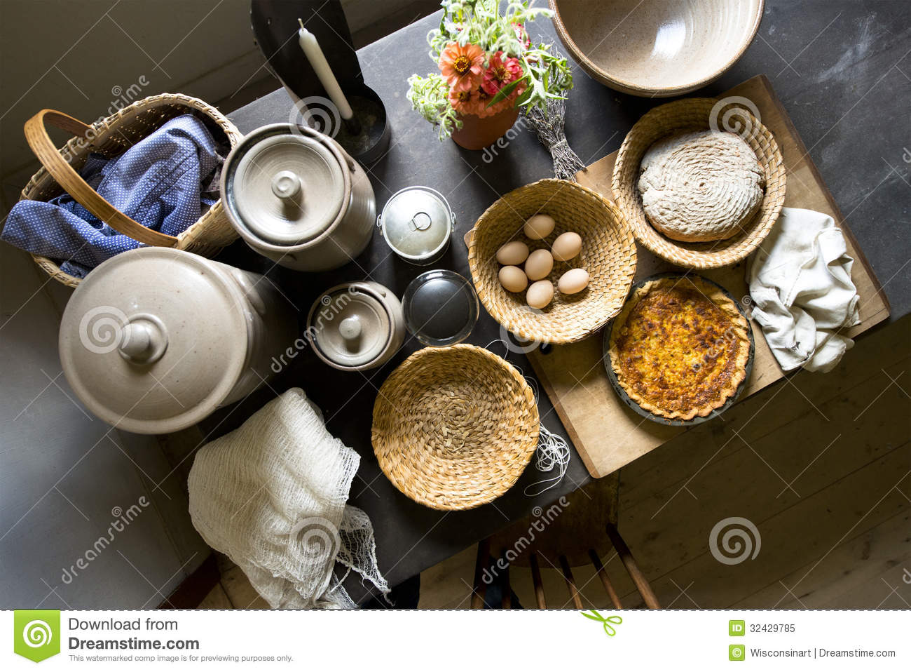 Old country farm kitchen home food cooking royalty free stock photo image 32429785 - Stylish cooking ...