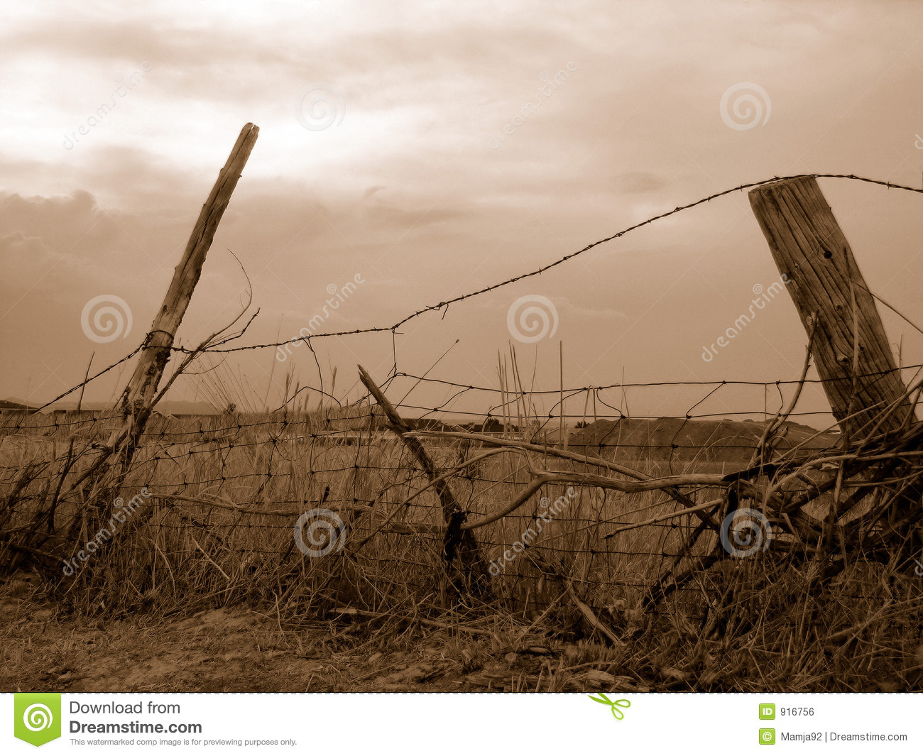 Old Country Fence Royalty Free Stock Image Image 916756