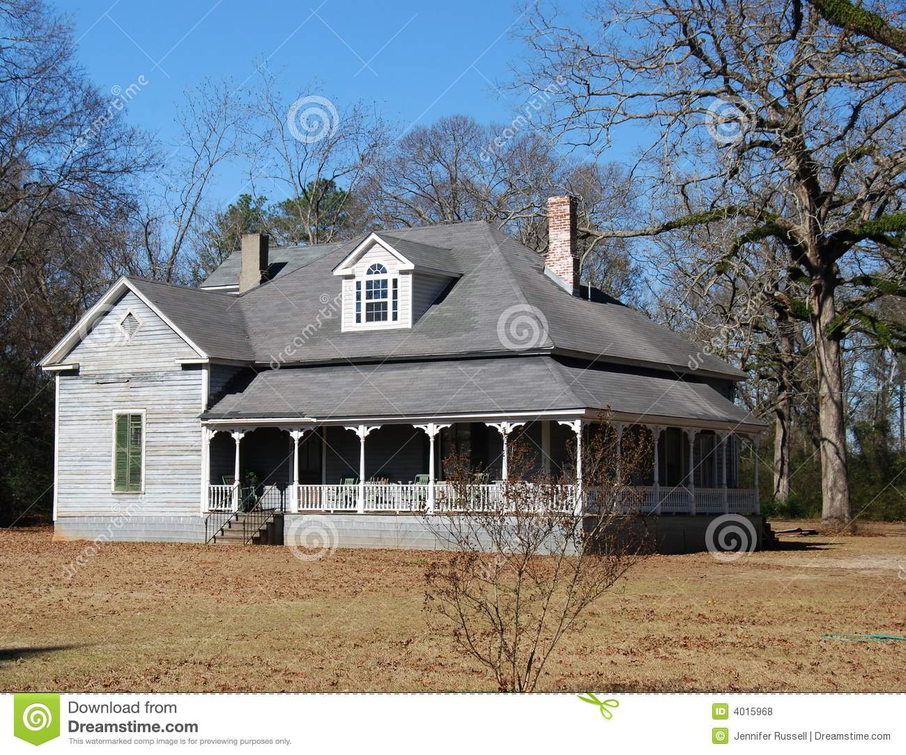 Old country home stock photo image of country house for Country house online