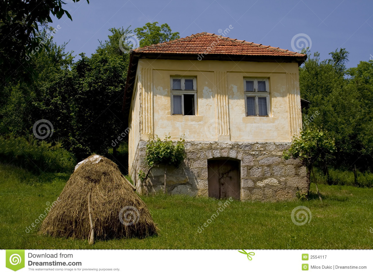 Old Country House Royalty Free Stock Photography Image