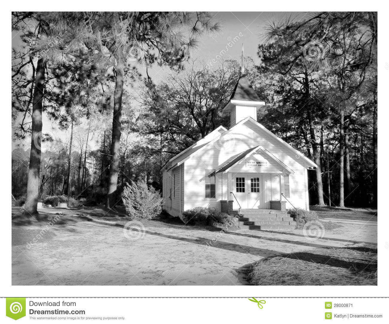 Old Country Wood Church