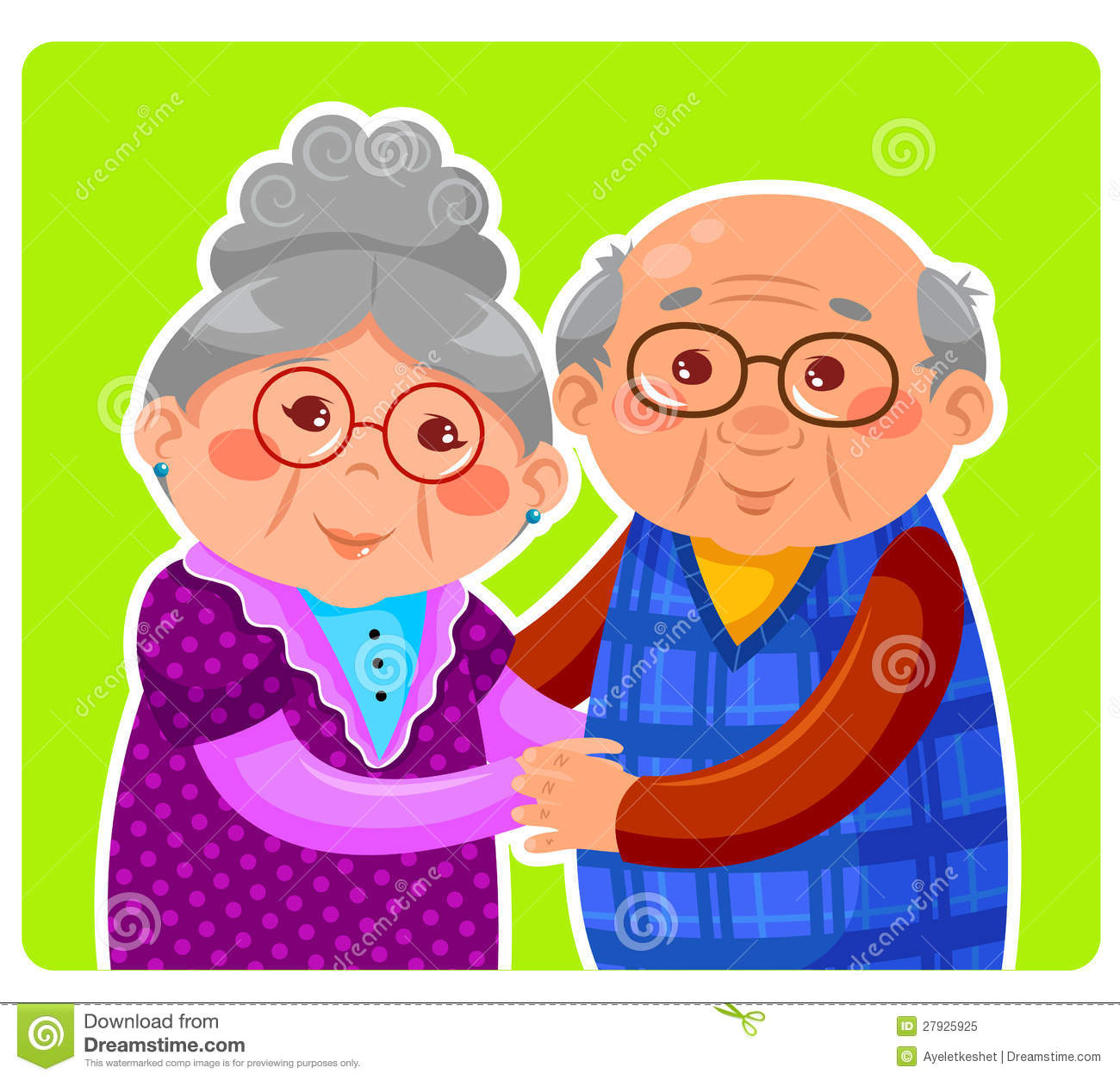 Old Couple Royalty Free Stock Photo - Image: 27925925