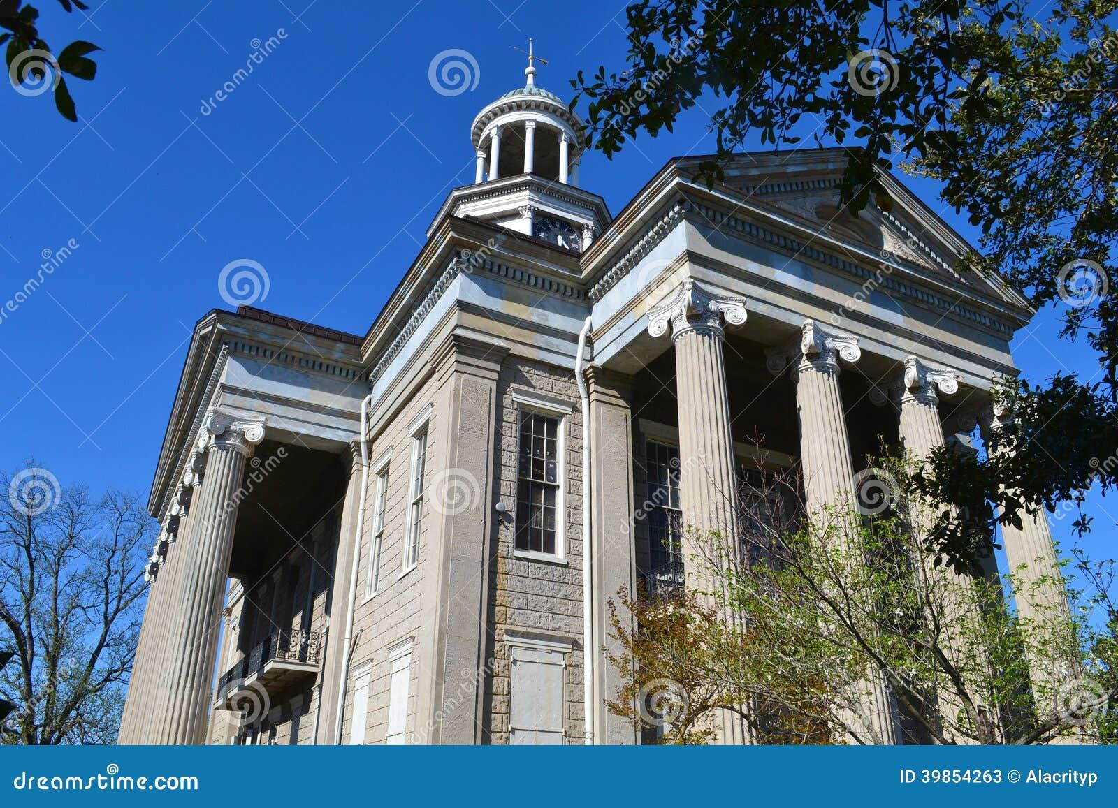 Old Courthouse in Vicksburg, Mississippi