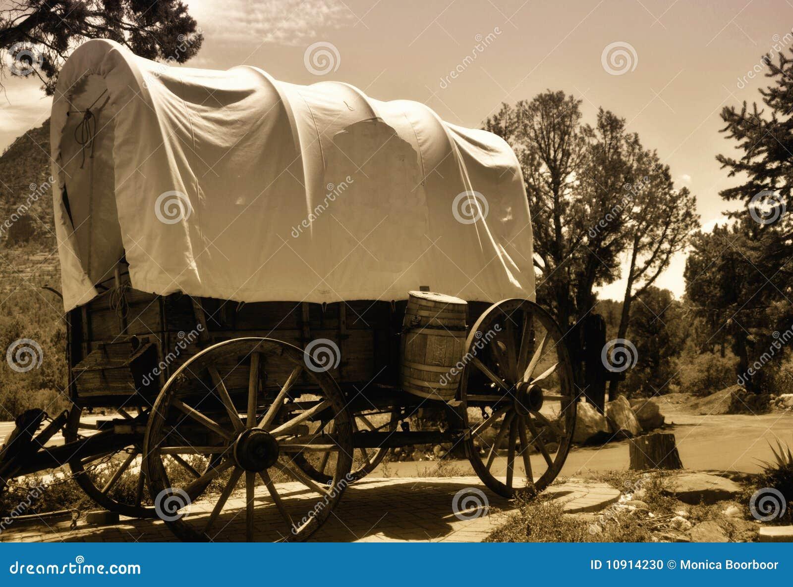 Home Decor Covered Wagon
