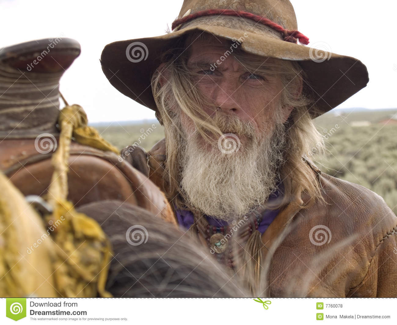 Old Cowboy Royalty Free Stock Photos - Image: 7760078