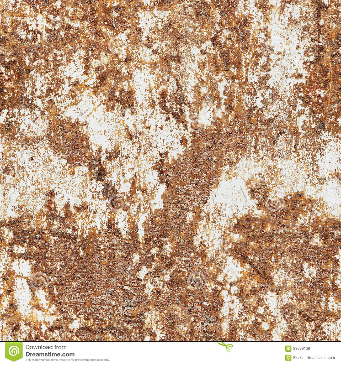 Old Cracked Paint On The Concrete Wall Stock Image Image