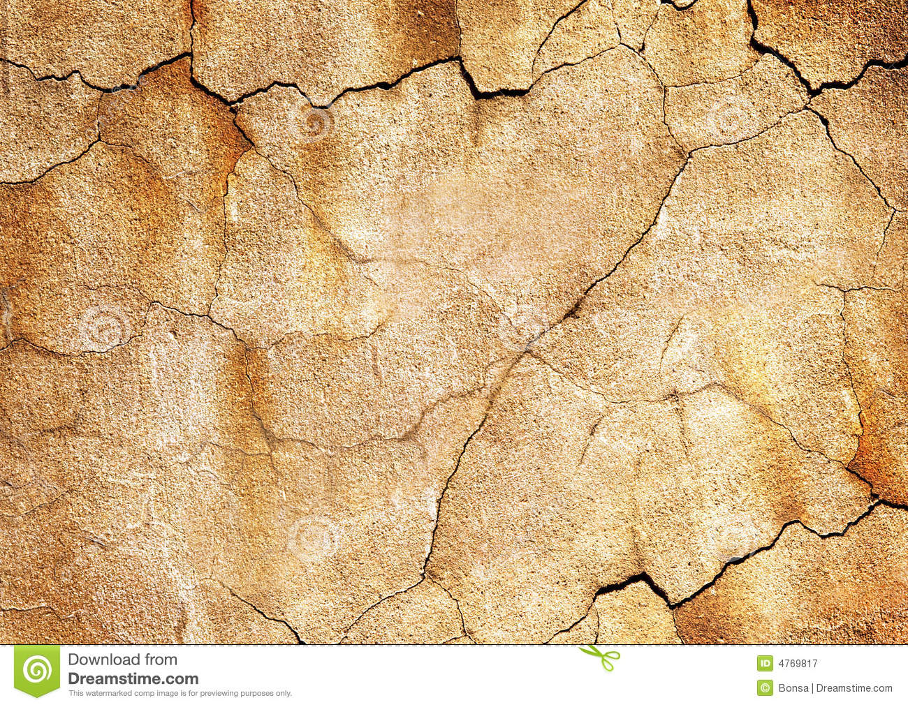 Old Cracked Wall Royalty Free Stock Graphy Image