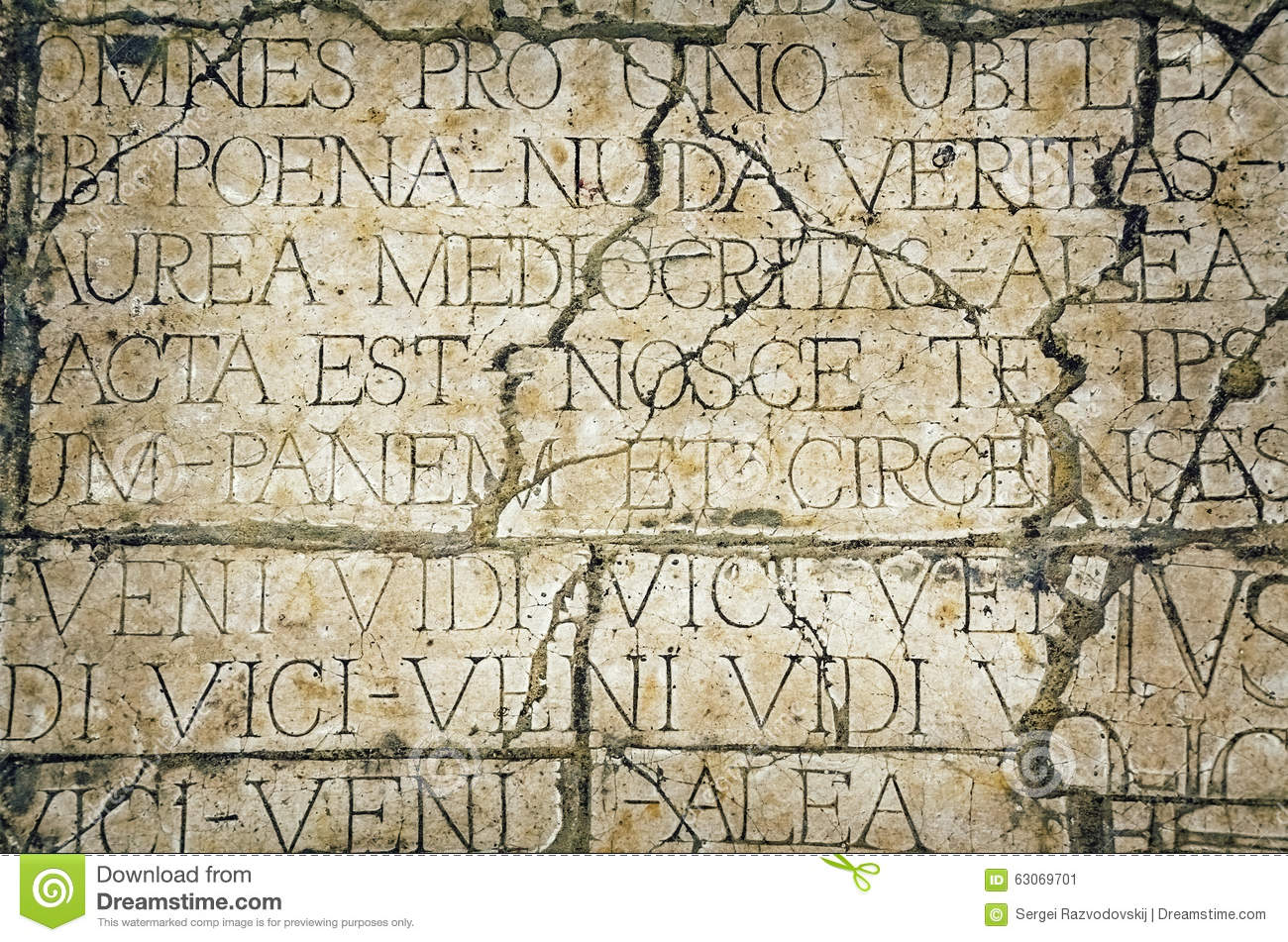 Old Cracked Wall stock image  Image of script, rift, retro - 63069701