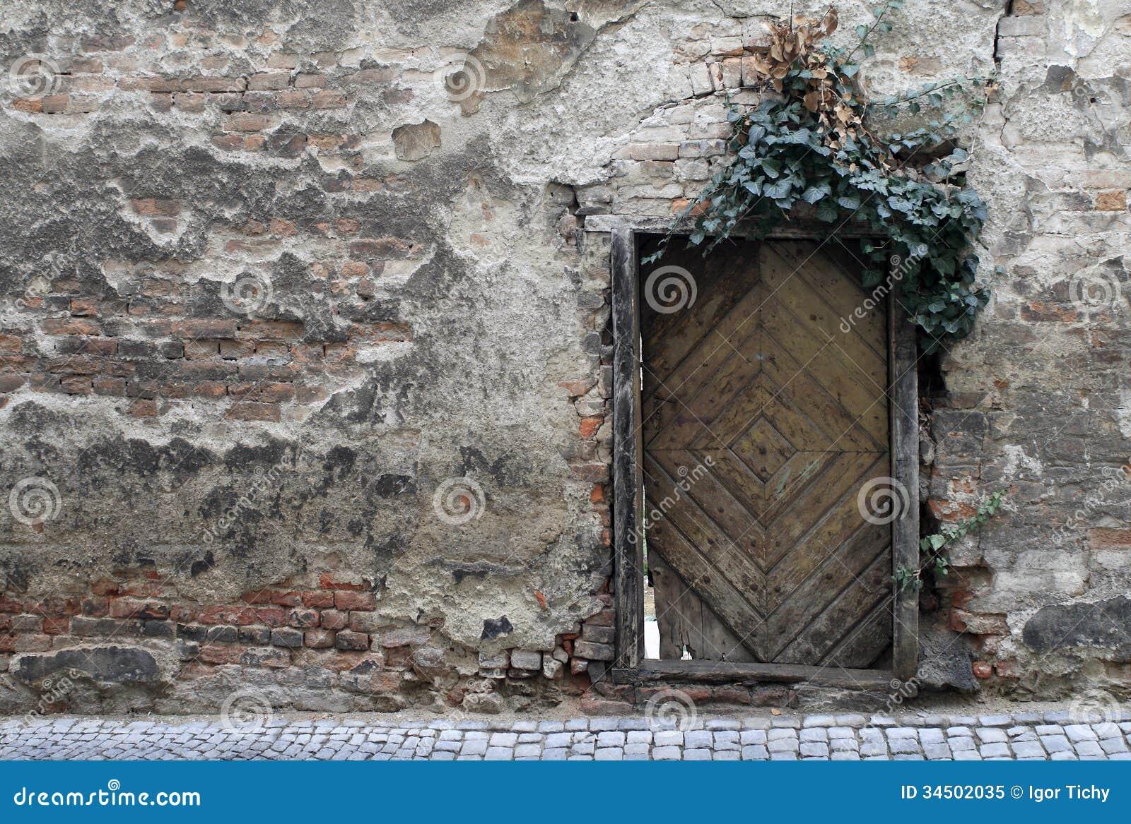 Old Crumbling Wall Royalty Free Stock Photo Image 34502035