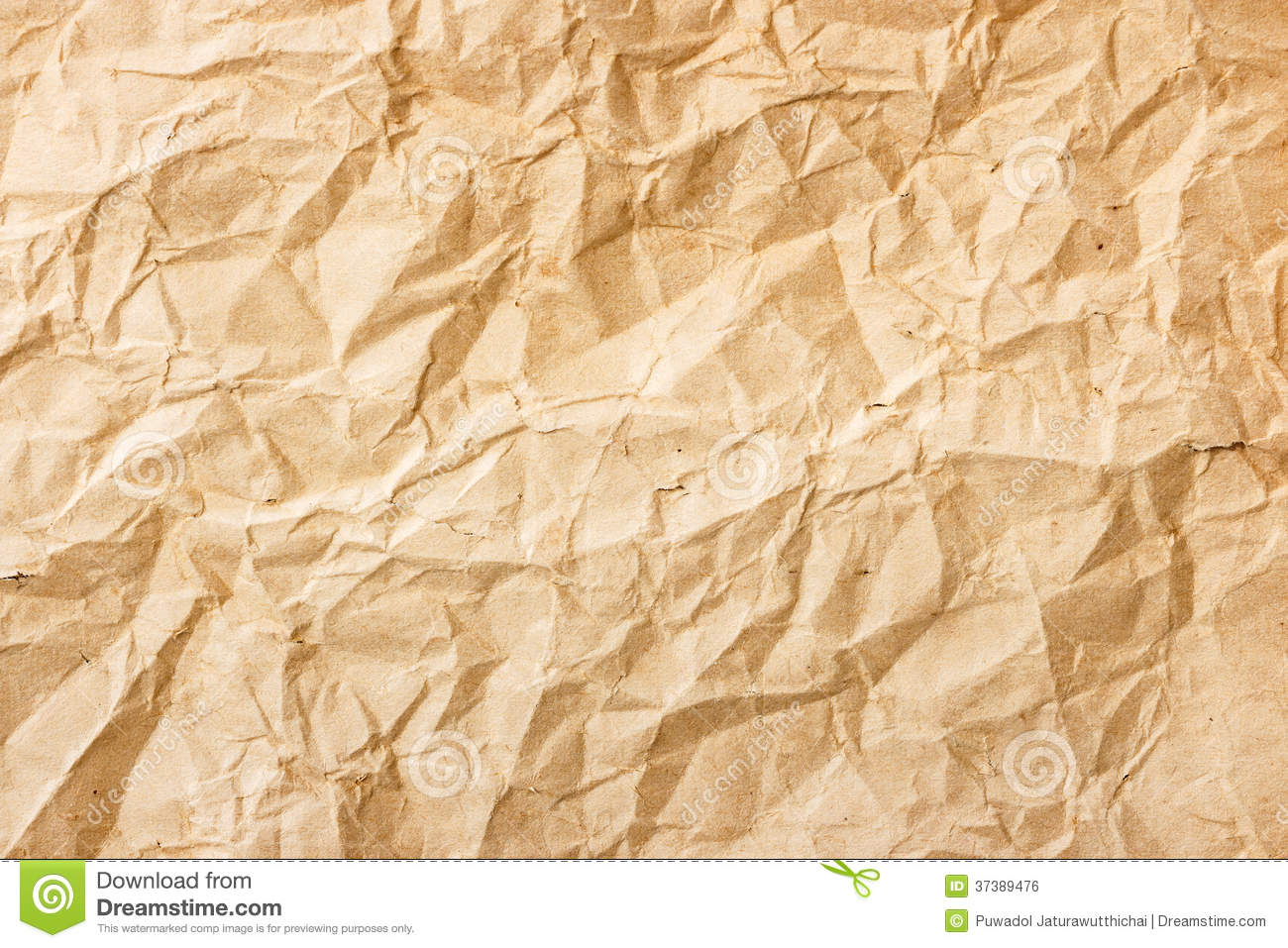 Old Crumpled Paper Texture The texture of old brown crumpled paper. mr ...