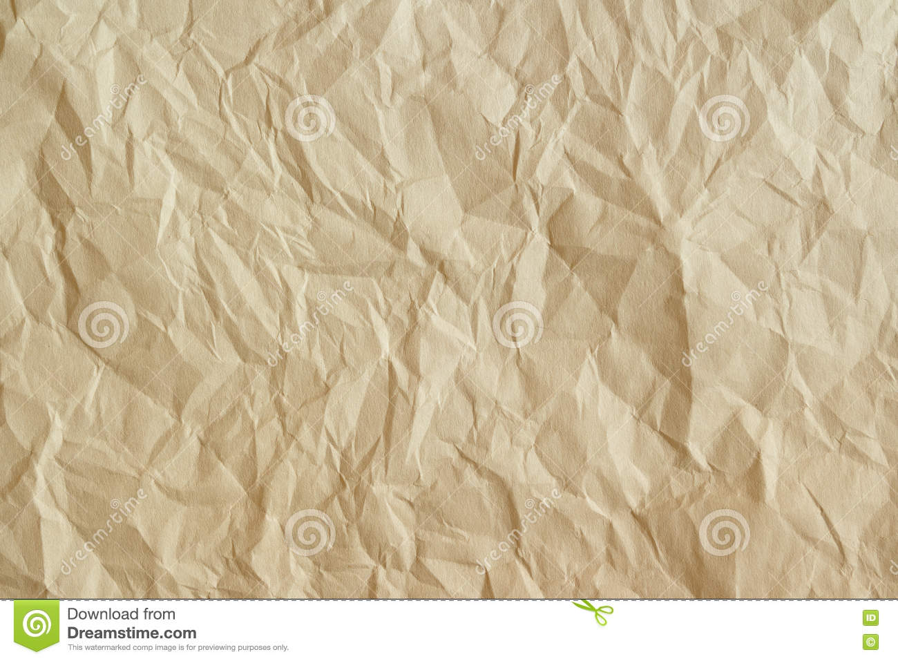 Old crumpled parchment texture.